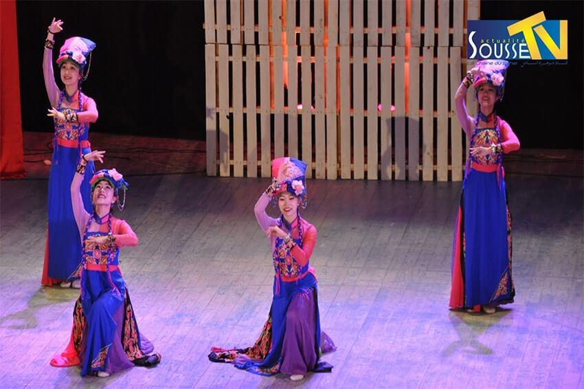 16 مارس 2016: سهرة صينية في المسرح البلدي الجزء الاول