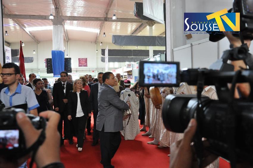 24 ماي 2016:  صور من إفتتاح صالون الدولي الأول للسياحة
