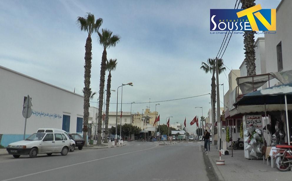 شوارع مدينة اكودة