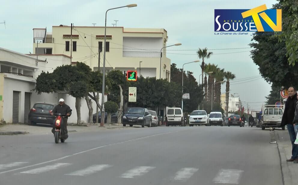Les ruelles de la ville d'akouda
