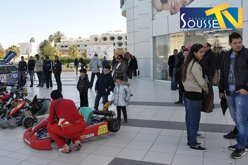 05 Mars 2016 :Karting - Le circuit touristique de Sousse