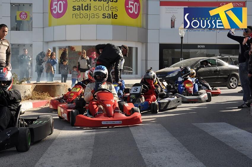 05 مارس 2016 :الكارتينج ـ جولة الطريق السياحية سوسة