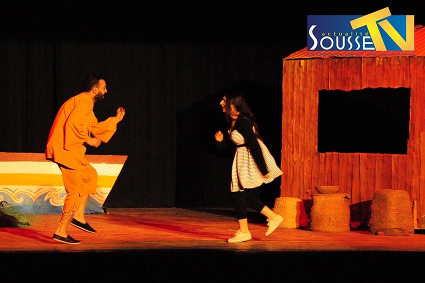 14 mars 2016 : Pièce de théâtre « BAHRIA WA BAHROUN »