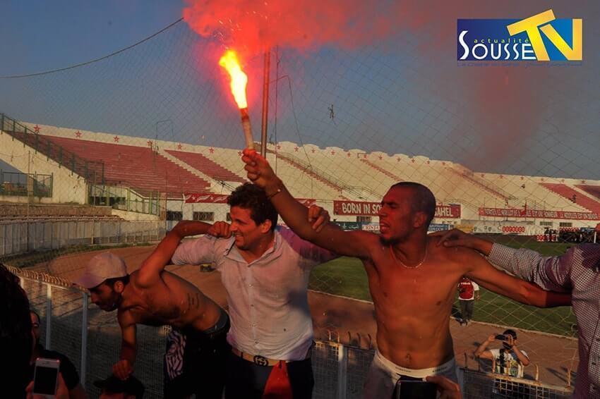 09 جوان 2016 : صور من مباراة النجم الرياضي الساحلي و قوافل قفصة بالملعب الاولمبي بسوسة