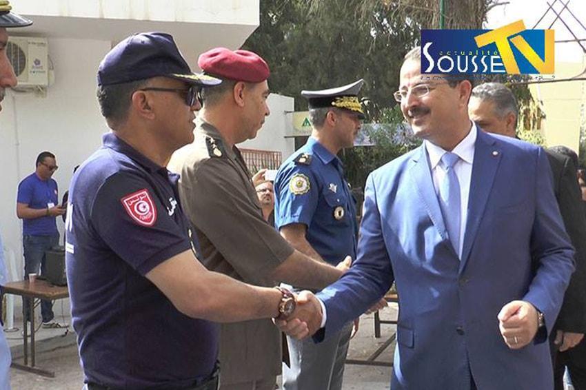 28 ماي 2016 : تكريم المؤسستين الأمنية و العسكرية
