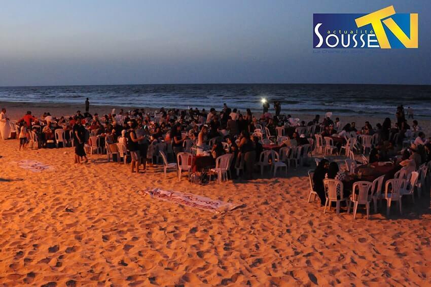 17 Juin 2016 : Manifestation Lamitna fi 7oumetna sur la plage de Boujaafer