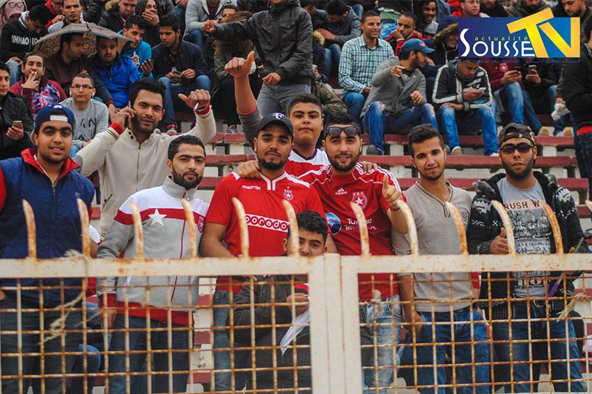 02 افريل 2016 :مباراة النجم الساحلي ومستقبل القصرين