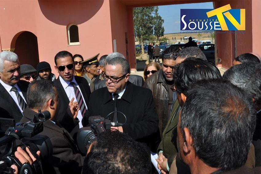 18 مارس 2016 :زيارة وزير أملاك الدولة و الشؤون العقارية