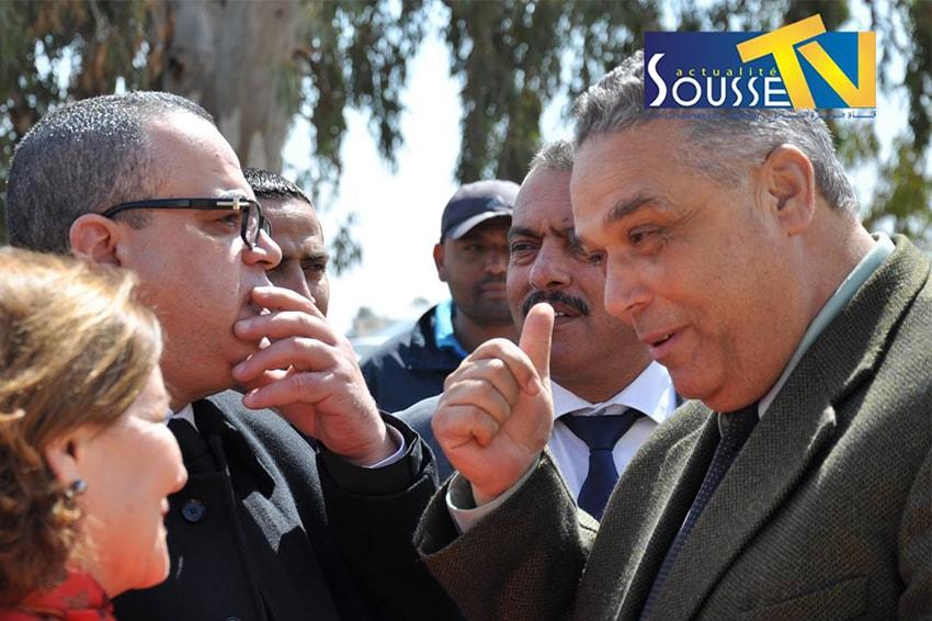 18 mars 2016 : Visite de ministre d'État de la propriété et affaires foncières