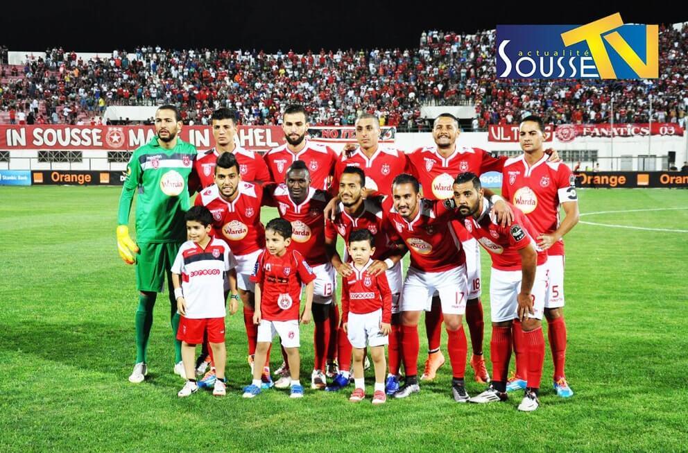 29 جوان 2016 : صور من مباراة النجم الرياضي الساحلي و فتح الرباط المغربي بالملعب الاولمبي بسوسة