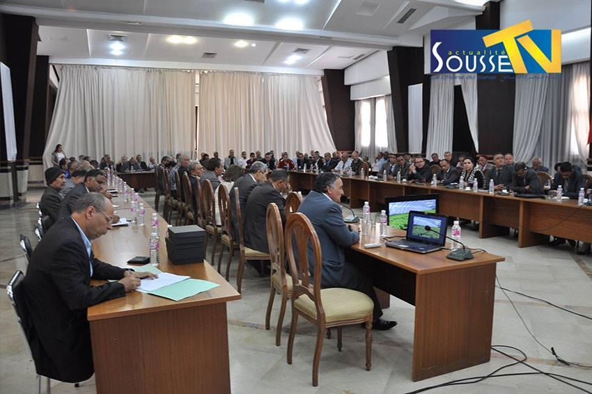 12 ماي 2016 : جلسة حول الاستعدادت لرمضان   -   بلدية سوسة