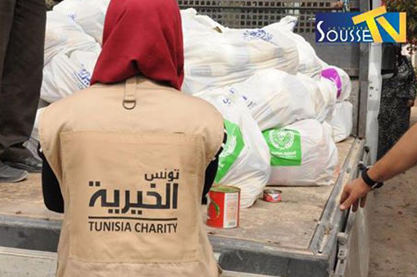 12 Juin 2016 :Tunisie Charité : Compagne d'aide aux familles nécessiteuses