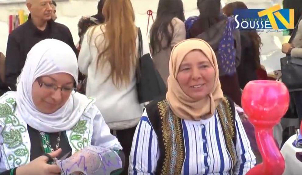 08 مارس 2016 تظاهرة تحت شعارالحرفيات التونسيات سند للأسرة ودعامة للإقتصاد الوطني