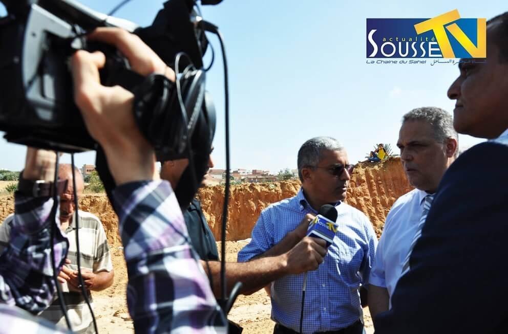 13 juillet 2016: La visite de  Gouverneur de Sousse M. Fathi Bdeira à la  Kalaa kebira