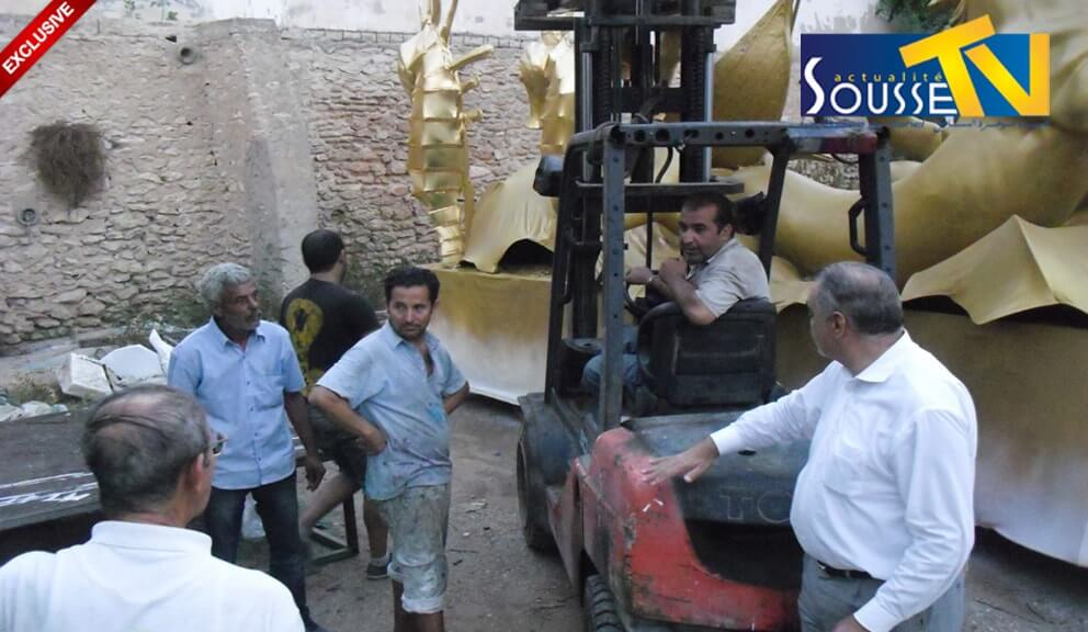 26 جويلية 2016 :صور من تحضيرات و الإستعدادات لمهرجان اوسو الجزء 1