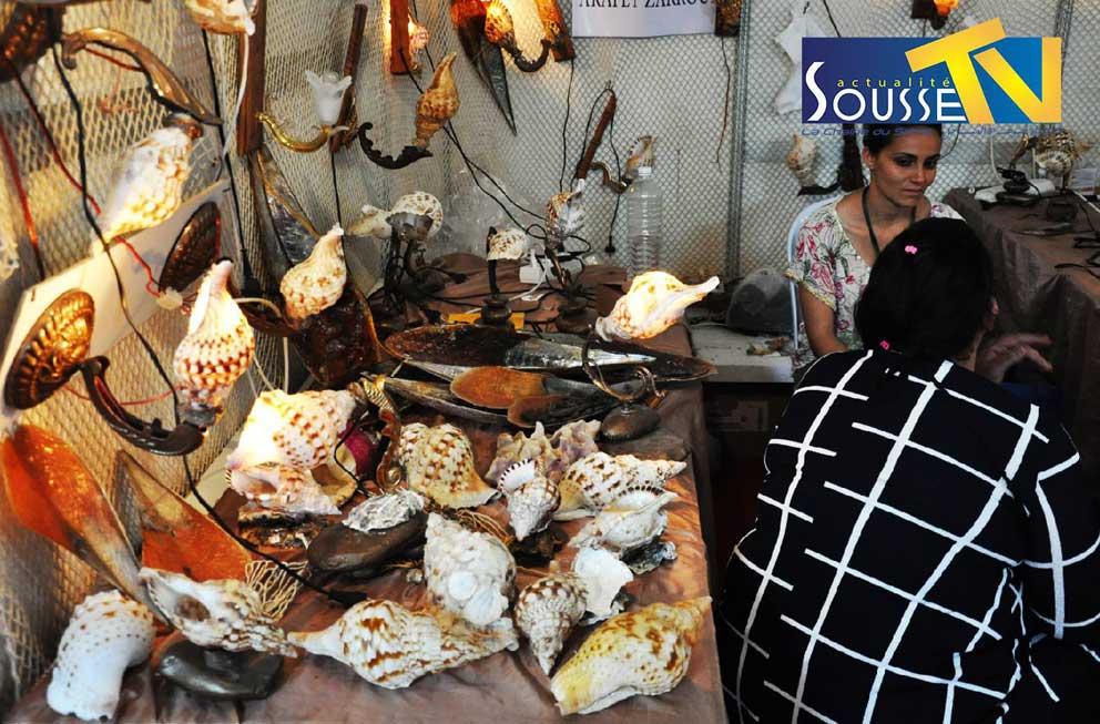 26 جويلية 2016 : صور من صالون الصناعات التقليدية بمعرض سوسة الدولي الجزء الثالث