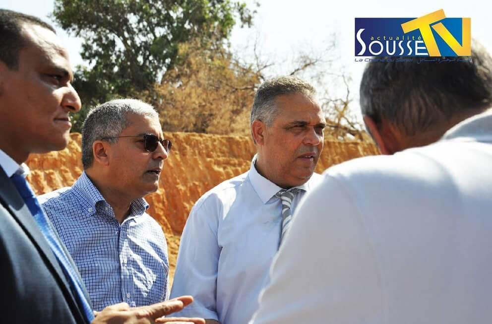 13 جويلية 2016 : الزيارة الميدانية لوالي سوسة السيد فتحي بديرة الى القلعة الكبرى