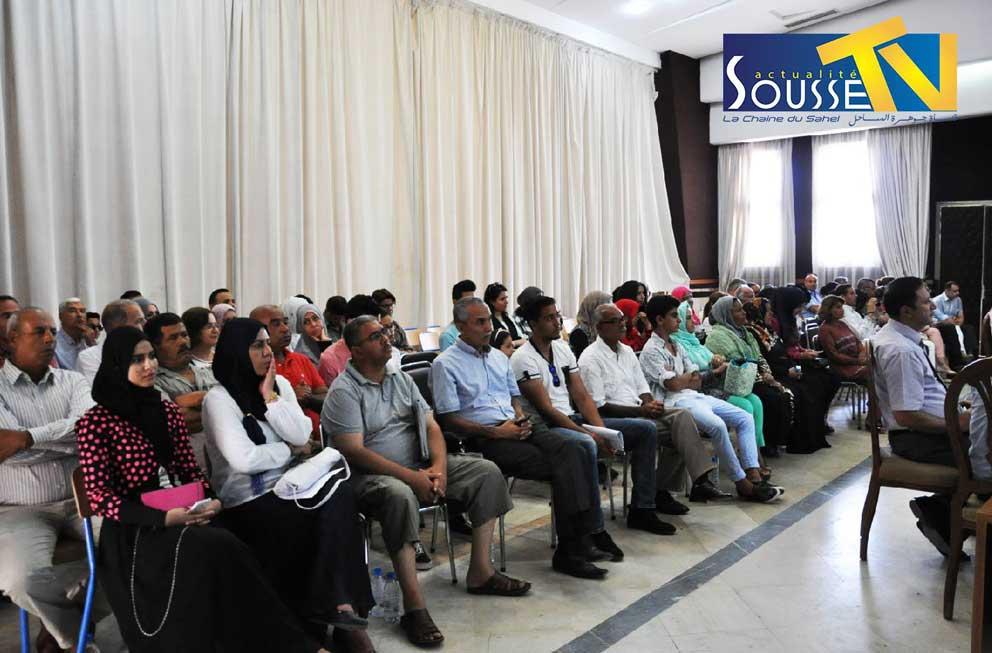 28 juillet 2016 : La Célébration régionale de la journée des sciences à Sousse