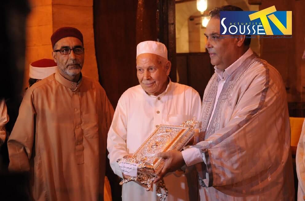 30 جوان 2016 : تكريم حفظة القرآن الكريم بالجامع الكبير بسوسة
