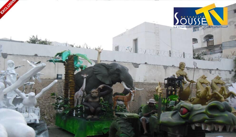 26 جويلية 2016 :صور من تحضيرات و الإستعدادات لمهرجان اوسو الجزء 2