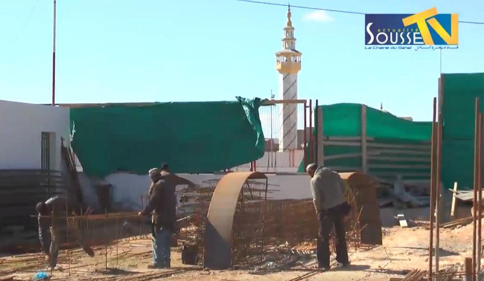 18 فيفري 2016 : زيارة ميدانية للسيد فتحي بديرة والي سوسة إلى معتمدية مساكن