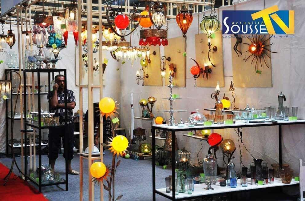 26 جويلية 2016 : صور من صالون الصناعات التقليدية بمعرض سوسة الدولي