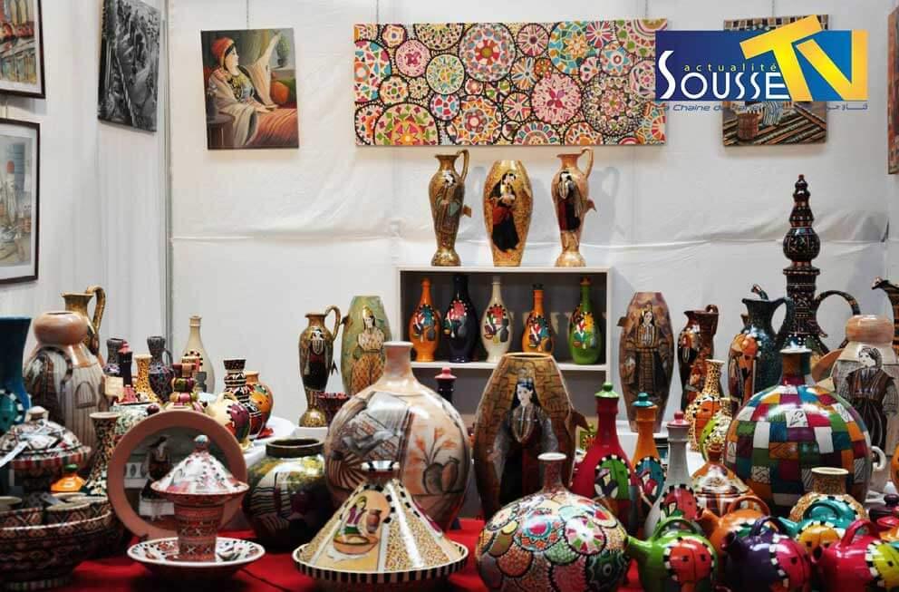 26 جويلية 2016 : صور من صالون الصناعات التقليدية بمعرض سوسة الدولي الجزء الثاني
