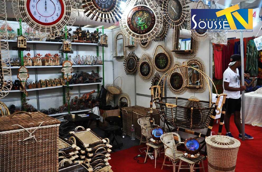 26 juillet 2016 : Le salon de l'artisanat à Sousse Partie 3