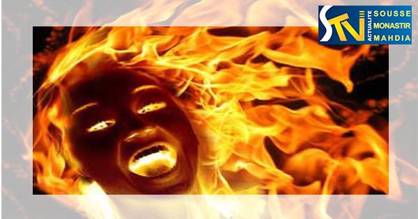 المنستير : عاملة نظافة تحاول الانتحار حرقا امام مقر الولاية